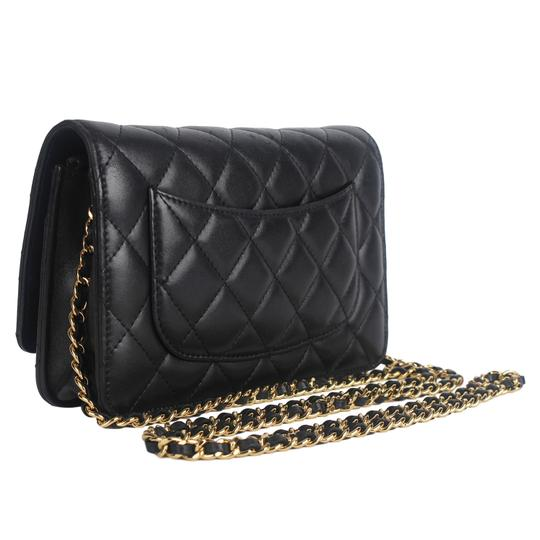 Chanel Wallet On A Chain Leather Woc Cross Body Bag Image 6
