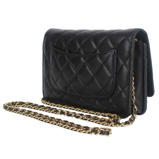 Chanel Wallet On A Chain Leather Woc Cross Body Bag Image 7