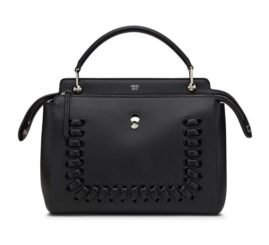 Preload https://img-static.tradesy.com/item/25822139/fendi-dotcom-whipstitch-new-black-leather-satchel-0-0-540-540.jpg