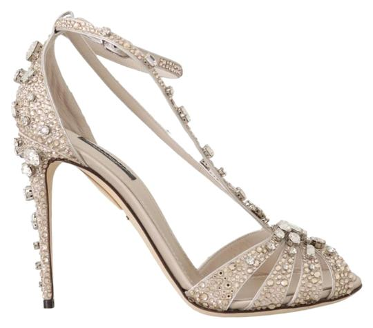 Preload https://img-static.tradesy.com/item/25822177/dolce-and-gabbana-beige-silk-crystal-strass-sandals-size-eu-39-approx-us-9-regular-m-b-0-1-540-540.jpg