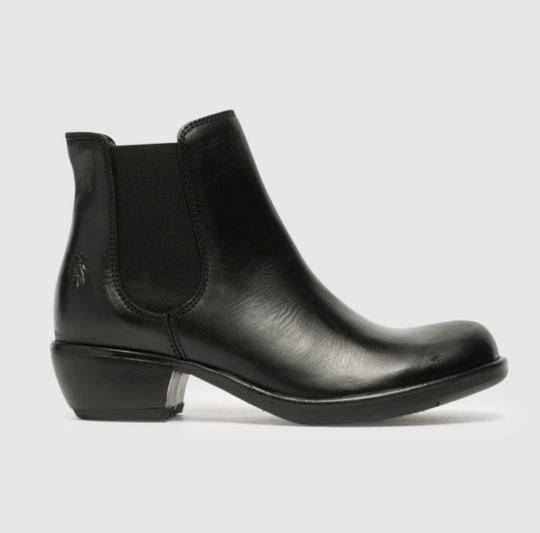 FLY London Black Rug Boots Image 1