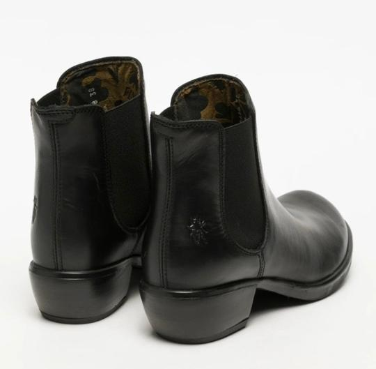 FLY London Black Rug Boots Image 2