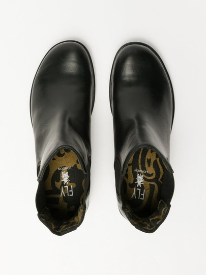 FLY London Black Rug Boots Image 3