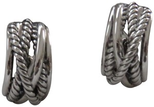 David Yurman Crossover Collection SS Open Hoops