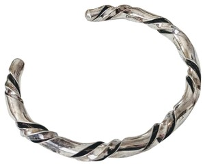 Vintage Native American Vintage Native American Sterling Silver Twisted Cuff