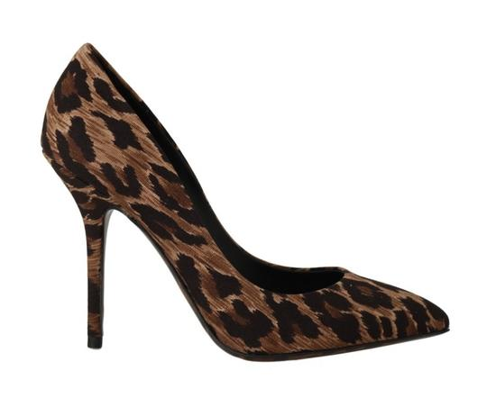Preload https://img-static.tradesy.com/item/25822274/dolce-and-gabbana-brown-cotton-leopard-heels-pumps-size-eu-38-approx-us-8-regular-m-b-0-0-540-540.jpg