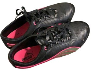 Puma black and hot pink. Athletic