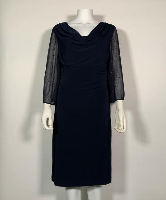 Connected Apparel Polyester Dress Image 2