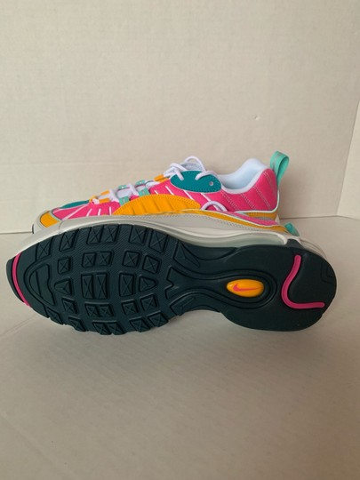 Nike Spirit Teal/Tropical Twist/Laser Fuchsia/Vast Grey Athletic Image 7