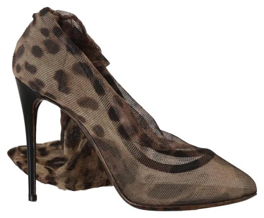 Preload https://img-static.tradesy.com/item/25822397/dolce-and-gabbana-brown-leopard-tulle-boots-pumps-size-eu-38-approx-us-8-regular-m-b-0-1-540-540.jpg
