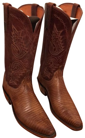 Preload https://img-static.tradesy.com/item/25822403/lucchese-brown-n4002-54-b-bootsbooties-size-us-75-regular-m-b-0-1-540-540.jpg