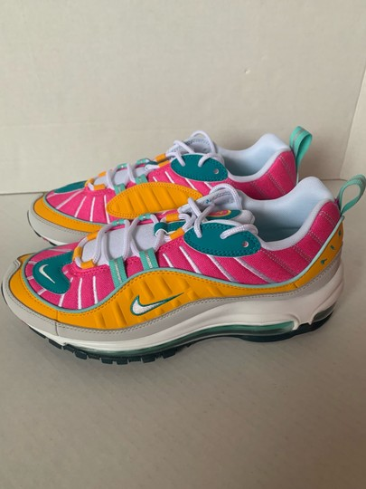 Nike Spirit Teal/Tropical Twist/Laser Fuchsia/Vast Grey Athletic Image 2