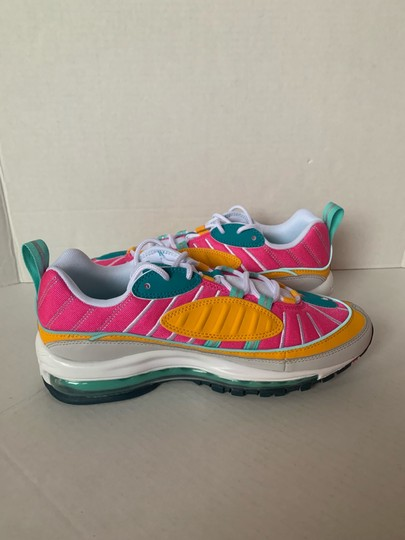 Nike Spirit Teal/Tropical Twist/Laser Fuchsia/Vast Grey Athletic Image 3