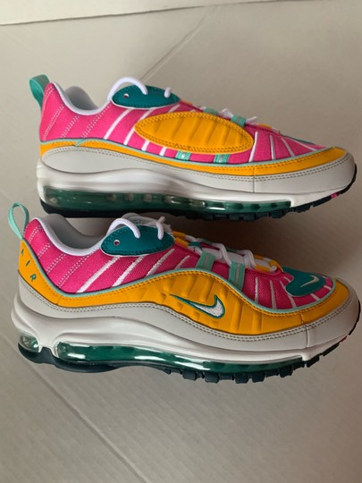 Nike Spirit Teal/Tropical Twist/Laser Fuchsia/Vast Grey Athletic Image 4