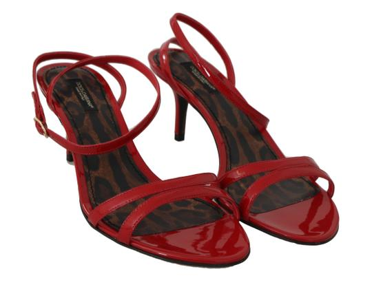 Dolce&Gabbana Red Sandals Image 3