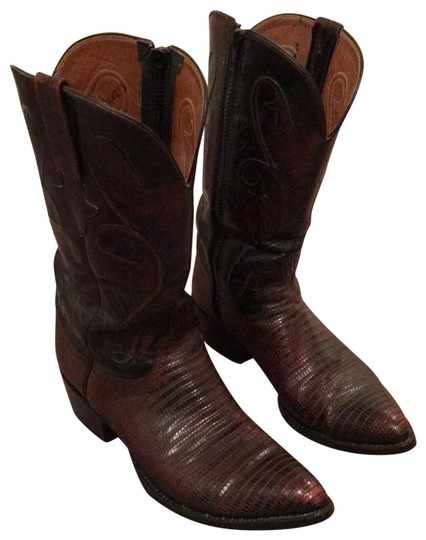 Preload https://img-static.tradesy.com/item/25822435/lucchese-dark-winebrown-none-bootsbooties-size-us-95-c-d-0-1-540-540.jpg