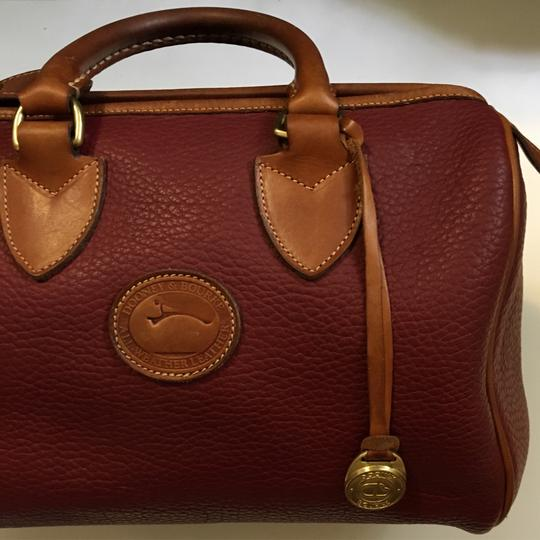 Dooney & Bourke Satchel in Red Image 2