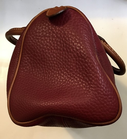 Dooney & Bourke Satchel in Red Image 6