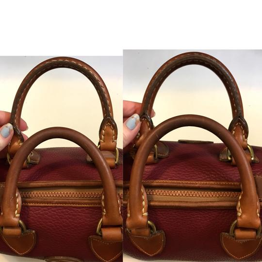Dooney & Bourke Satchel in Red Image 7