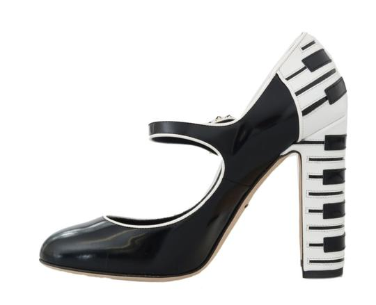 Dolce&Gabbana Black/White Pumps Image 1