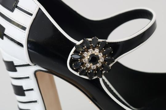 Dolce&Gabbana Black/White Pumps Image 4