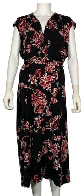 Preload https://img-static.tradesy.com/item/25822455/connected-apparel-multicolor-midi-black-floral-new-mid-length-short-casual-dress-size-22-plus-2x-0-1-650-650.jpg