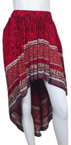 Free People Skirt Red