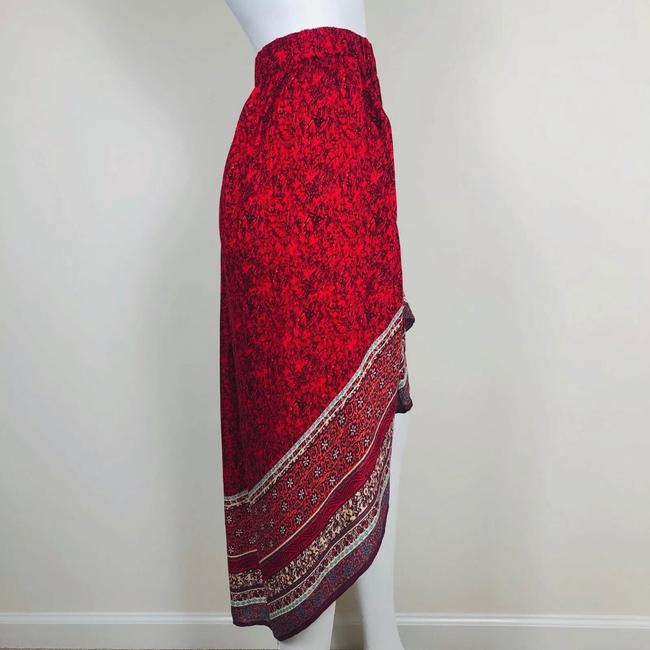 Free People Skirt Red Image 1