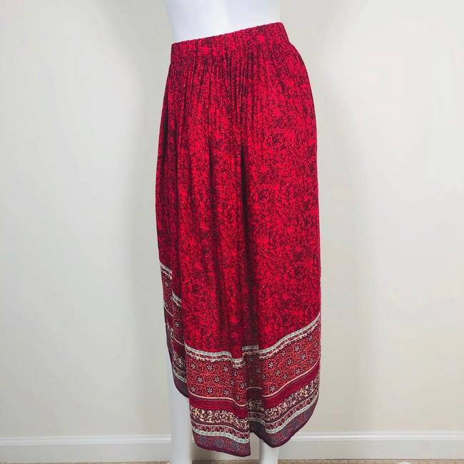 Free People Skirt Red Image 3