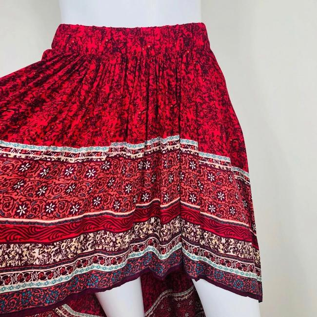 Free People Skirt Red Image 4