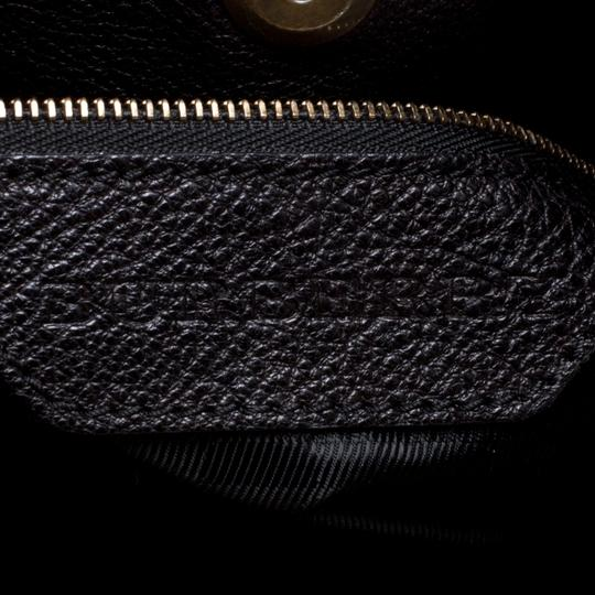 Burberry Leather Tote in Black Image 5