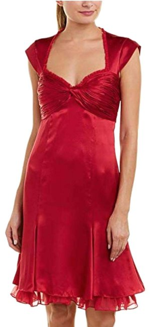 Preload https://img-static.tradesy.com/item/25822554/cinq-a-sept-red-marnie-cerise-silk-ruched-bodice-mid-length-cocktail-dress-size-4-s-0-1-650-650.jpg
