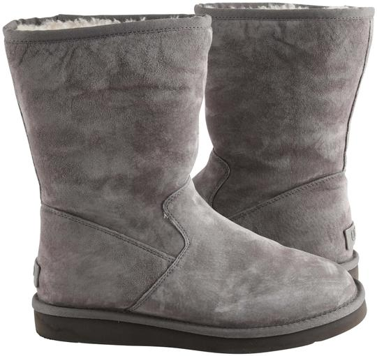 Preload https://img-static.tradesy.com/item/25822559/ugg-australia-gray-classic-with-zipper-bootsbooties-size-us-8-regular-m-b-0-1-540-540.jpg