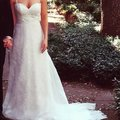 Ivy & Aster And Traditional Wedding Dress Size 4 (S) Image 2