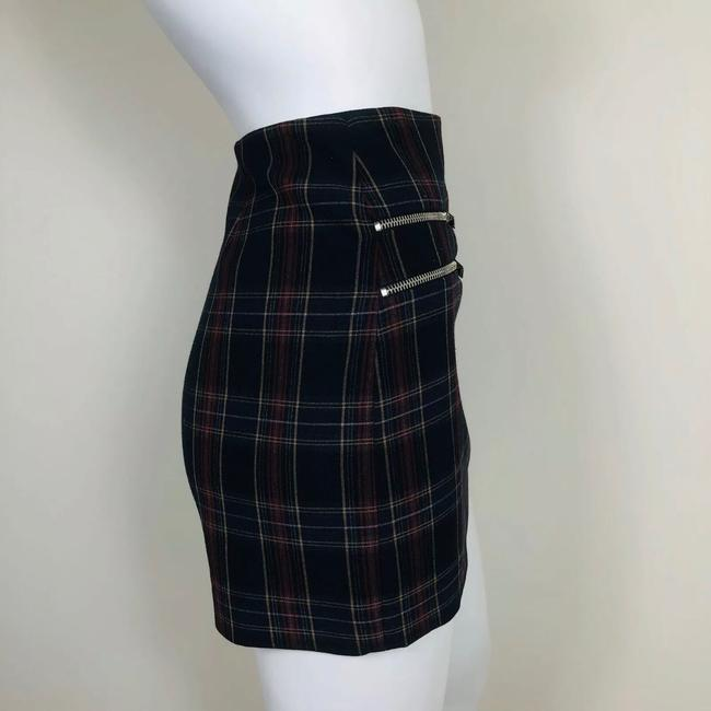 Zara Mini Skirt Blue Image 3