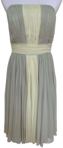 Chris Kole Silk Pleated Chiffon Dress