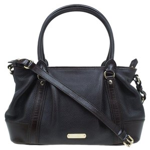 Burberry Leather Fabric Shoulder Bag
