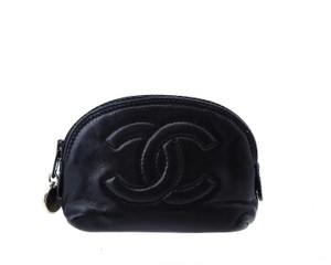 Chanel Leather Mini Travel Pouch