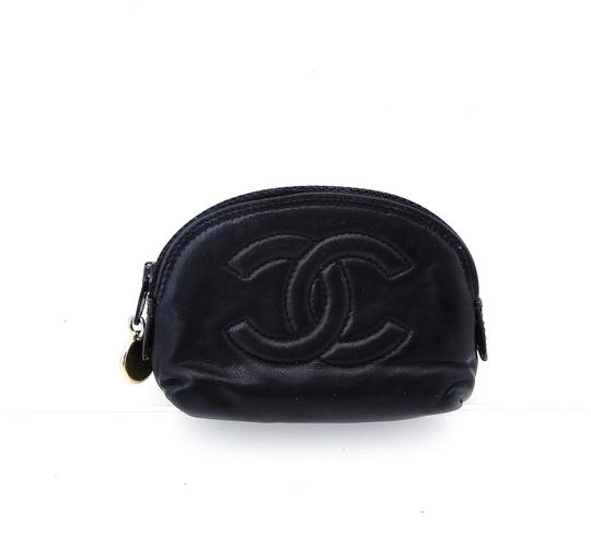 Chanel Leather Mini Travel Pouch Image 10
