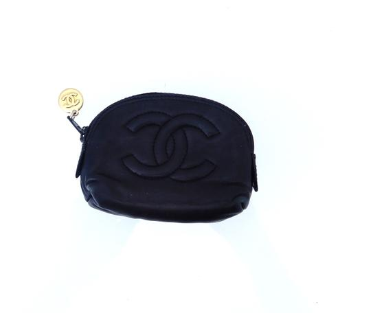 Chanel Leather Mini Travel Pouch Image 4
