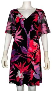 Connected Apparel short dress Multicolor Polyester on Tradesy