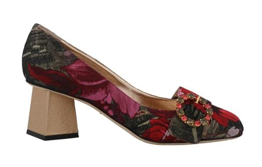 Preload https://img-static.tradesy.com/item/25822971/dolce-and-gabbana-black-and-red-jacquard-floral-crystal-pumps-size-eu-39-approx-us-9-regular-m-b-0-0-540-540.jpg