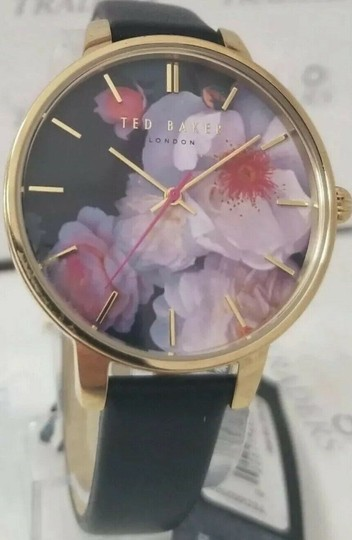 Ted Baker TED BAKER CHELSEA BLACK LADIES WATCH NWB Image 4