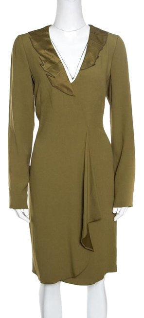 Preload https://img-static.tradesy.com/item/25823039/emporio-armani-green-l-olive-flutter-front-long-sleeve-tunic-formal-dress-size-12-l-0-1-650-650.jpg
