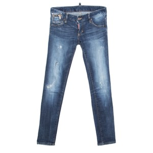 Dsquared2 Distressed Denim Skinny Jeans
