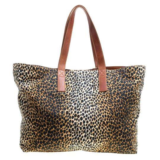 Dolce&Gabbana Canvas Tote in Brown Image 2