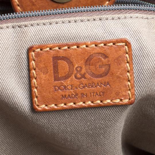 Dolce&Gabbana Canvas Tote in Brown Image 6