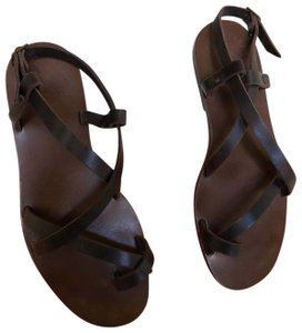 ISHVARA Brown Sandals