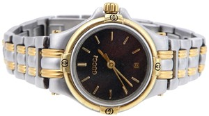 Gucci Vintage Gucci 9040L Two-Tone Ladies Watch