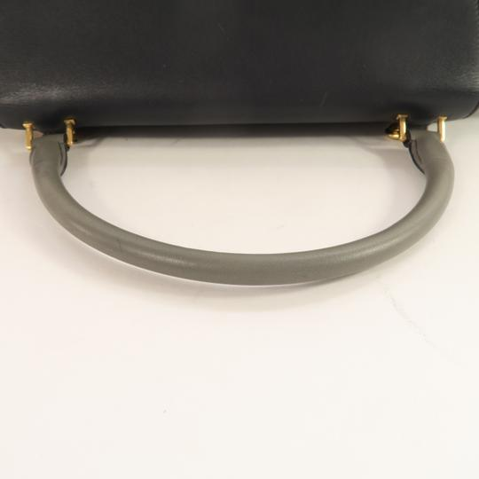 Céline Trapeze Calfskin&deerskin Medium Satchel in Multicolor Image 6